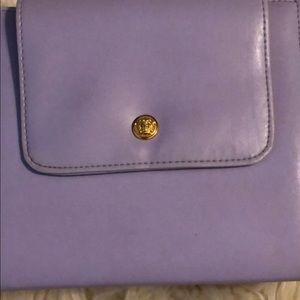 Versace lilac purple makeup bag